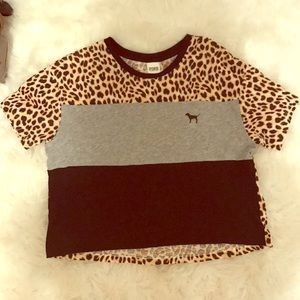 Victoria Secret - PINK t- shirt (cheetah)